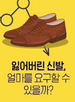 잃어버린 신발, 얼마를 요구할 수 있을까?